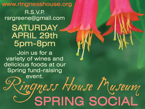 Ringness House Museum Spring Social @ Ringness House Museum